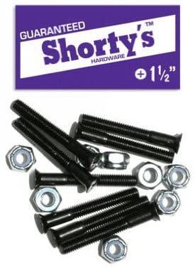 "Shortys Skateboard Hardware 1.5"""