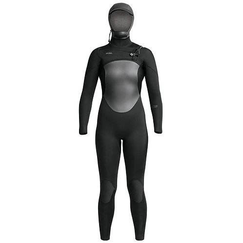 Xcel Womens 5/4mm Axis Hooded Wetsuit