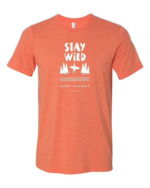Stay Wild Unisex T-Shirt (Orange)