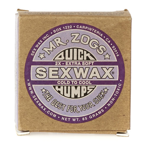 Mr Zogs Sex Wax Quick Humps Cold Surf Wax