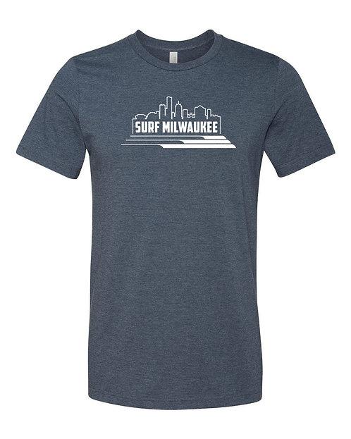 Surf Milwaukee Unisex T-Shirt (Dark Blue)