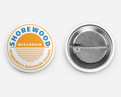 Shorewood Circle Sun Pin
