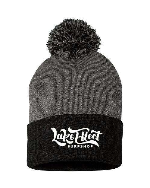Lake Effect Logo Beanie (Grey/Black)
