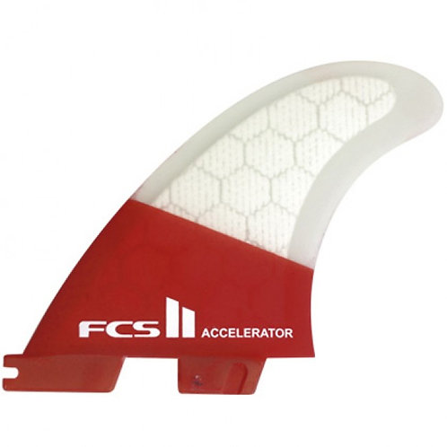 FCS II Accelerator PC 3-Fin Set (Medium)