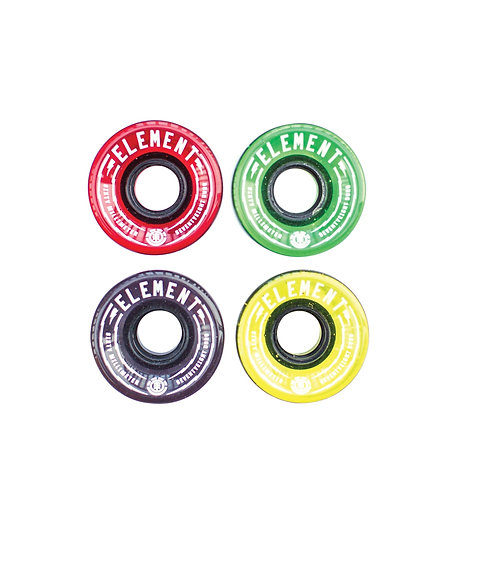Element Rasta 60mm Wheel Set (Multi Color)