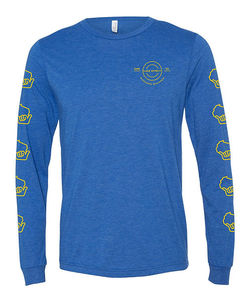 Lake Effect Circle Logo Unisex Longsleeve T-Shirt