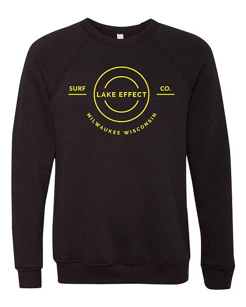 Lake Effect Round Logo Unisex Crewneck Sweatshirt
