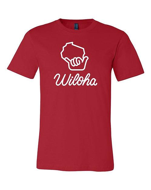 Wiloha Unisex T-Shirt (Red)