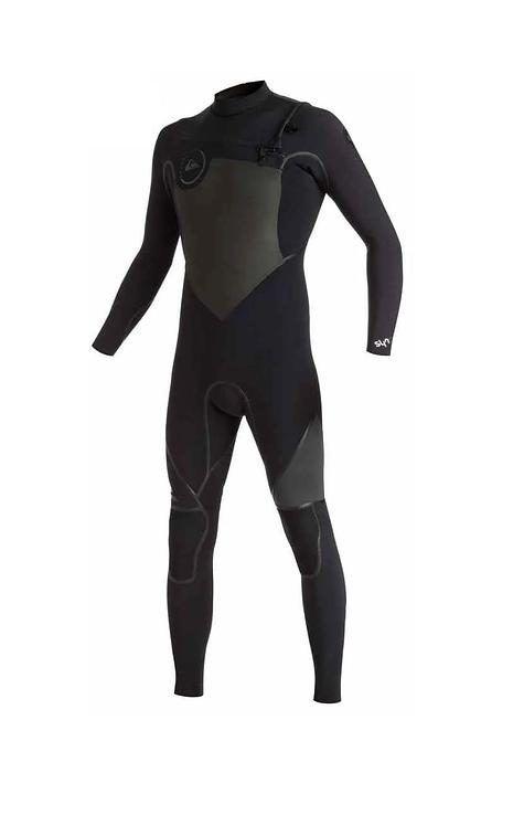 Quiksilver Mens Syncro Chest Zip Fullsuit 4/3mm