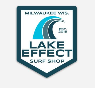 Lake Effect Tri Wave Sticker
