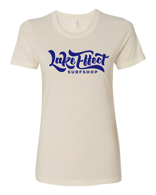 Lake Effect Ladies T-Shirt (Ivory)