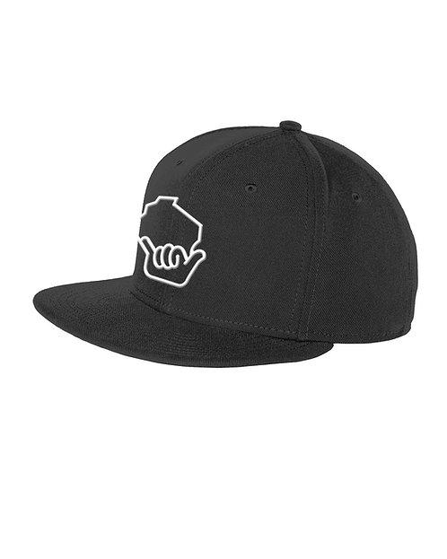 Wiloha Icon Adjustable Hat (Black/White)