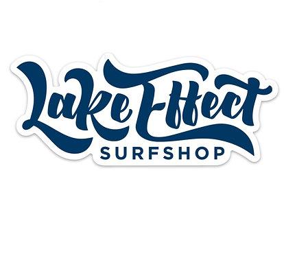 Lake Effect Classic Logo Sticker