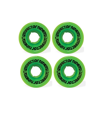 Sector 9 Nine Ball 59mm Wheels (Solid Green)