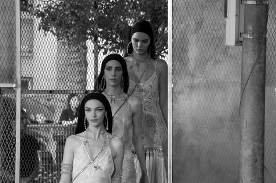 Défilé Givenchy Parc Georges Brassens