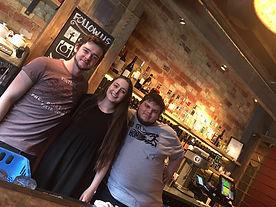 bar and floor staff