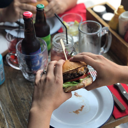 New menu for our american style burgers in Headington, Oxford, enjoy eating out with friends and unique local craft beers.