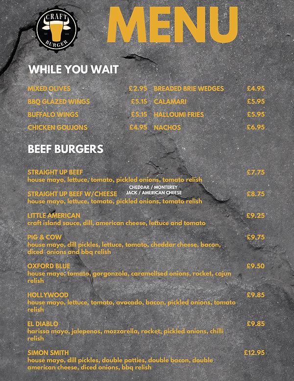 Craft Burger Temporary Menu .jpg