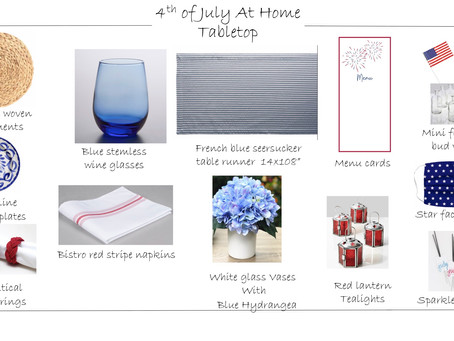 Fourth of July 2020... AT HOME!