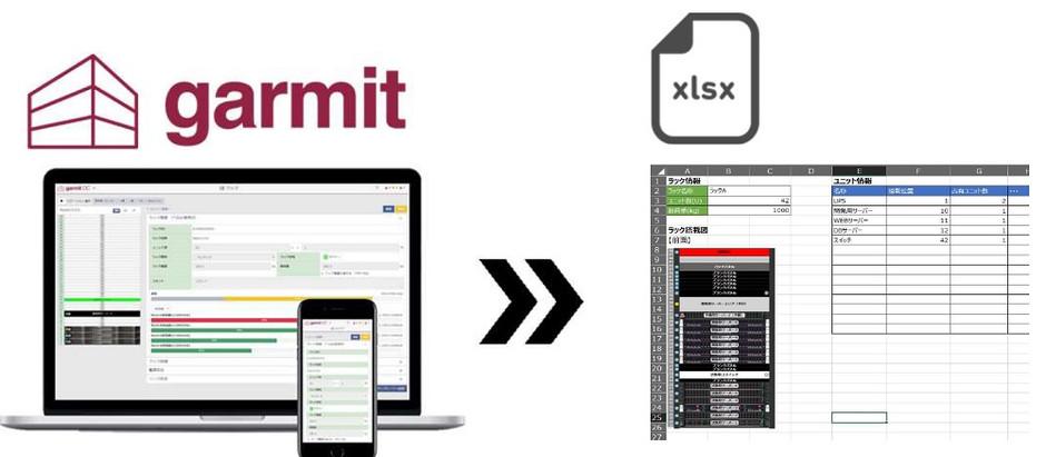garmit DCIMの新機能:アセット情報のExcel帳票出力機能について