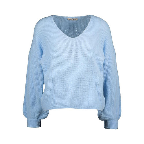 POIRE KNITTED SWEATER LIGHT BLUE