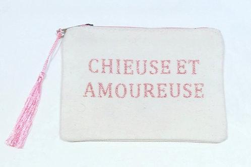 TOILET BAG CHIEUSE ET AMOUREUSE