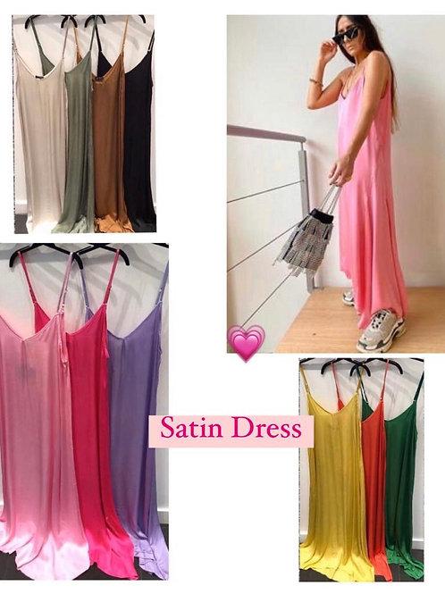 NATACHA SATIN DRESS