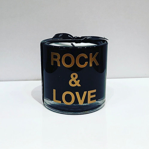 ROCK & LOVE HANDMADE CANDLE 8CM