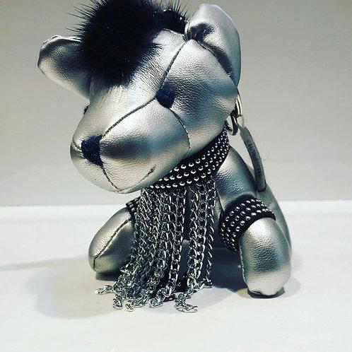 DOG KEYCHAIN SILVER