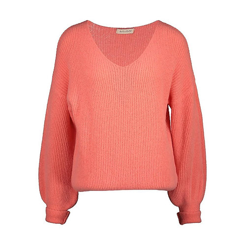 POIRE KNITTED SWEATER PEACH