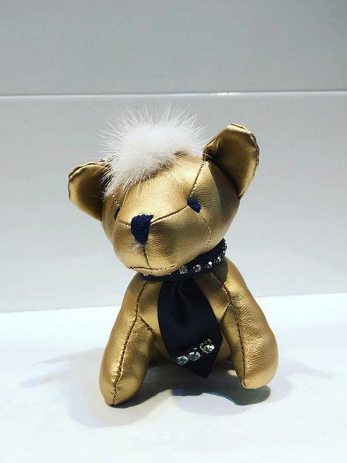 DOG KEYCHAIN GOLD