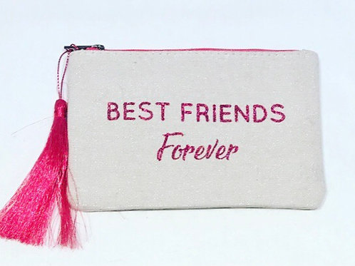 TOILET BAG BEST FRIEND FOREVER