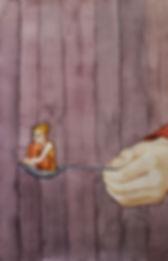 Lucie Fiore Illustration cuillère
