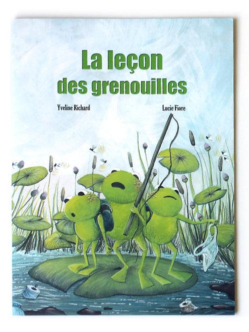 Album jeunesse - La leçon des grenouilles