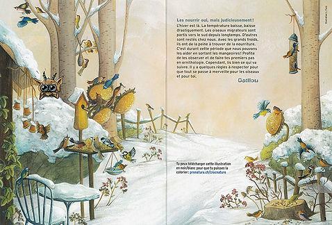 Lucie Fiore Illustration Croc'Naur Pro Natura