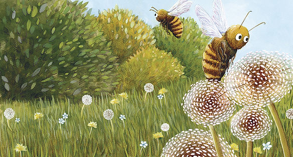 lucie fiore illustration abeille