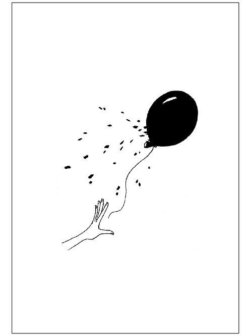 carte - ballon