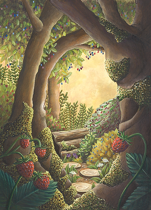 Lucie Fiore Illustration jardin foret Pro Natura