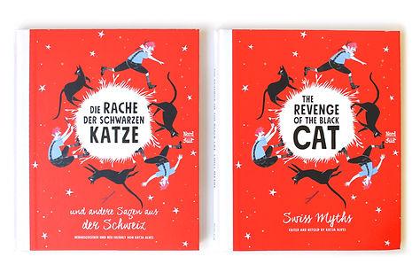 Lucie Fiore Illustration la revanche du chat noir Nord-Süd Verlag