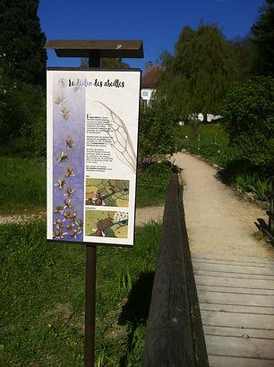 lucie fiore illustration parcours abeille