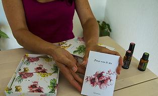 message des plantes tarot fleurs lucie fiore illustration