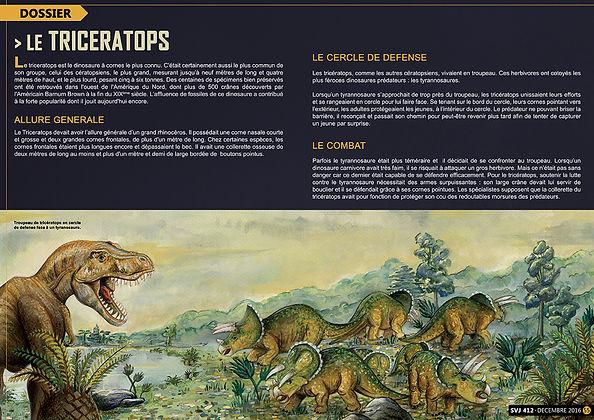 Ceratopsiens Lucie Fiore Illustration