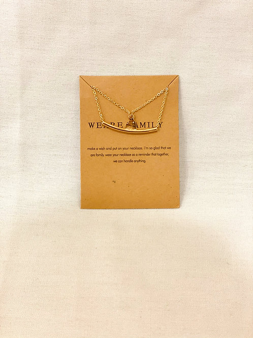 """We Are Family""Necklace"