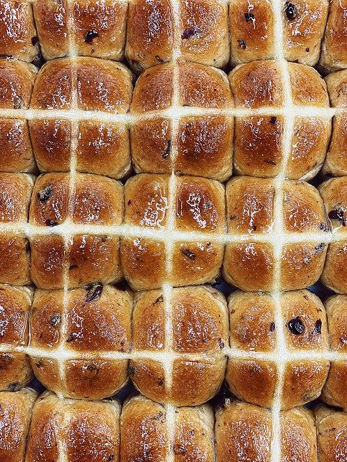 Dozen Hot Cross Buns