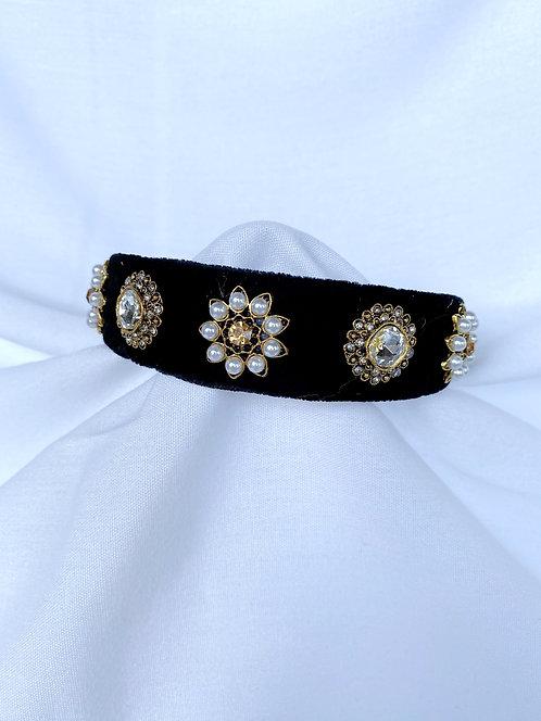White Dolce Headband