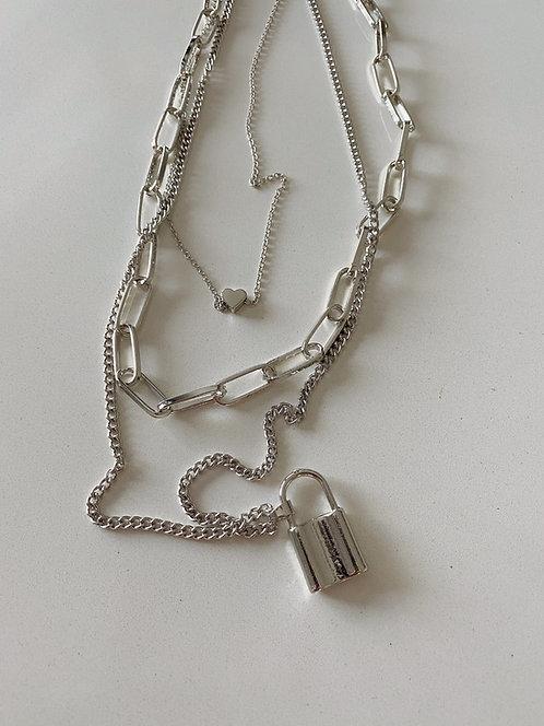 Love Locks Necklace
