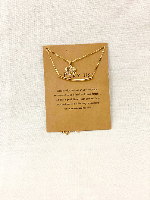 """Lucky Us"" Necklace"
