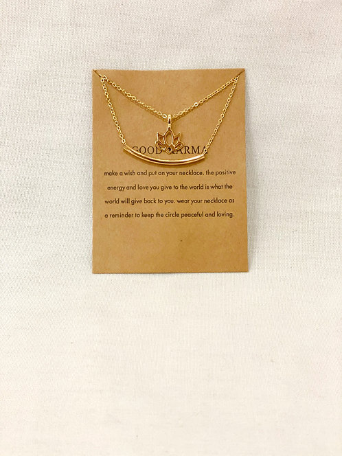 """Good Karma"" Necklace"