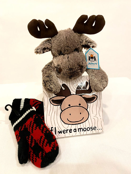 Little Ones Moose Gift Set
