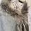 Thumbnail: Off-Shoulder Fur Trim Shawl